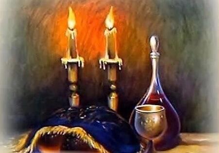 Сгула смотреть на Шабатние свечи перед  Кидушем